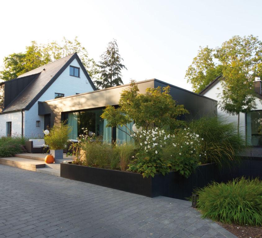 Klassisches Einfamilienhaus mit modernem Anbau, Mönchengladbach